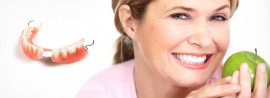 <b>New Dentures</b> – Secure & functional teeth in a day!